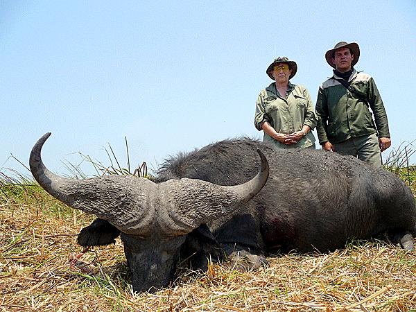 julie hilling hunting-highlights-zambeze-delta-safaris-africa